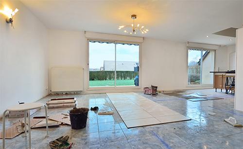 Verbouwingen in huis
