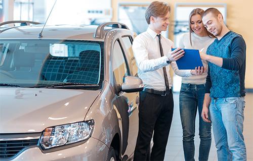 auto met verkoop op afbetaling