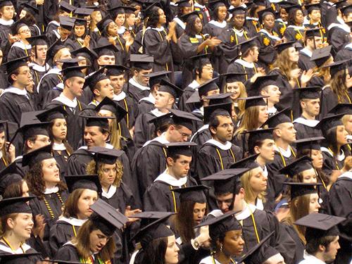 Studenten in de VS hebben veel schulden