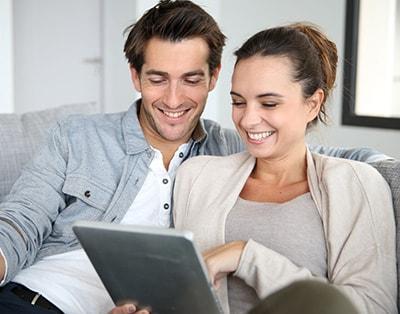 Koppel wil lening online aflsuiten