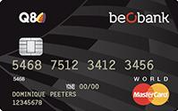 Beobank Q8 Kredietkaart