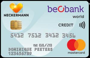 beobank Neckermann Mastercard