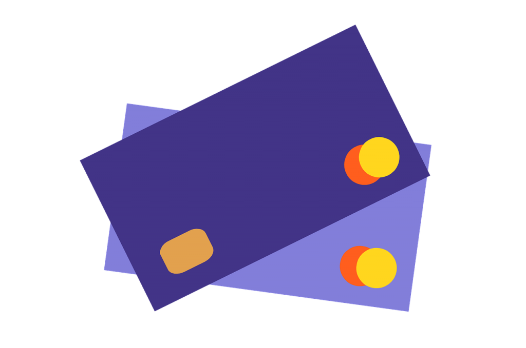 2 cartes de credit Mastercard 1