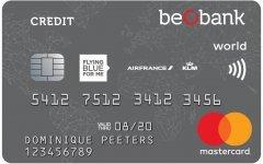 Beobank Premium Flying Blue World Mastercard