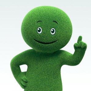 Cetelem-Groen-Mannetje