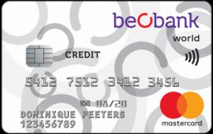 beobank kredietkaart