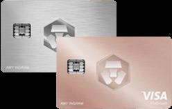carte visa crypto blanche