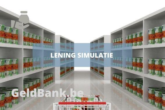 Lening Simulatie - title