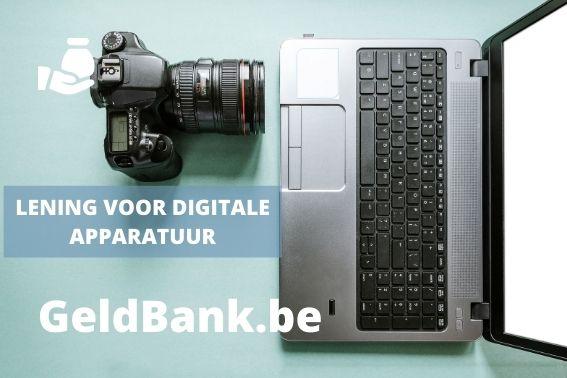 Lening voor digitale apparatuur - title