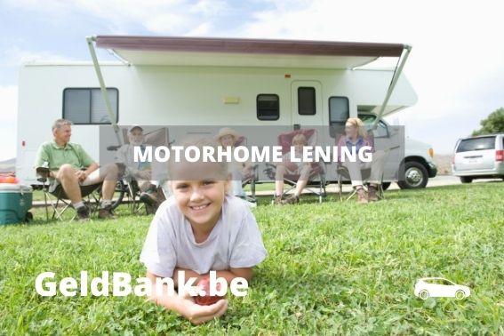 motorhome lening