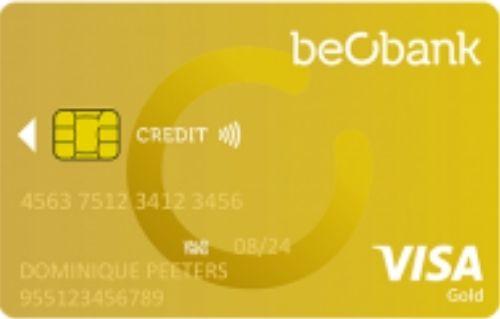 Beobank Visa Gold new