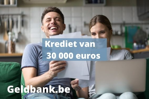 30000 euro lenen
