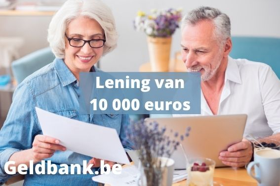 10000 euro lenen