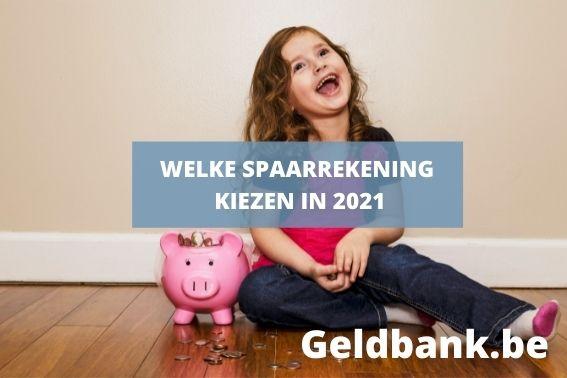 De beste spaarrekening 2021